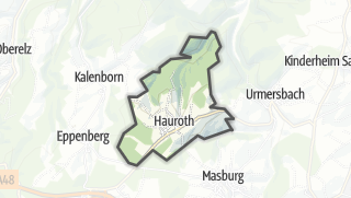 Karte / Hauroth