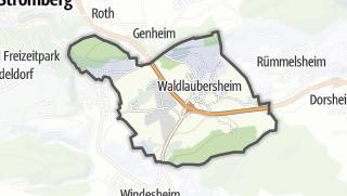 Karte / Waldlaubersheim