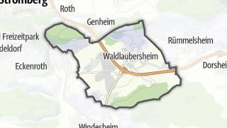 Map / Waldlaubersheim