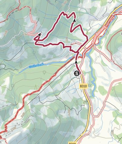Karte / A02 Buchelalpe