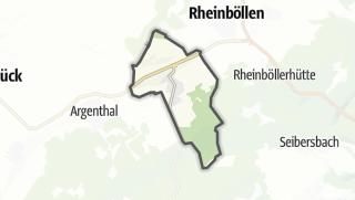 Karte / Ellern (Hunsrück)