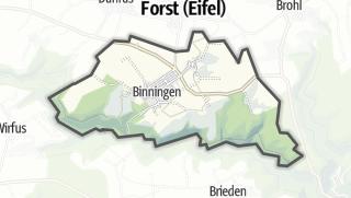 Karte / Binningen