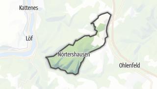 地图 / Nörtershausen