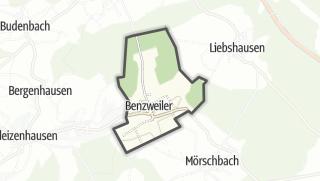 Mapa / Benzweiler