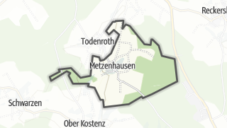 Karte / Metzenhausen