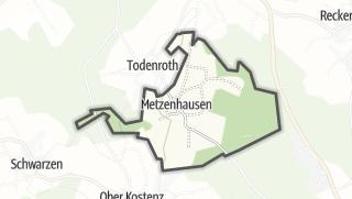 Mapa / Metzenhausen