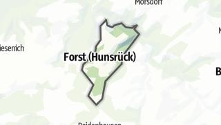 Karte / Forst (Hunsrück)