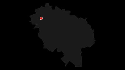 Karte / Radfernweg Meerweg