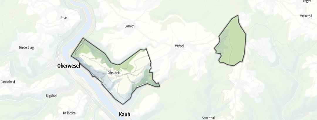 Map / Long-distance hikes in Dörscheid