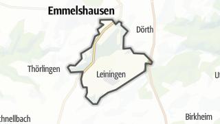Karte / Leiningen