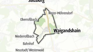 Cartina / Zehnhausen bei Rennerod