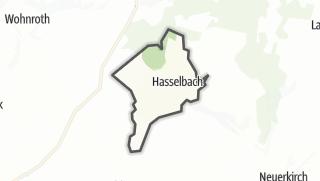 Mapa / Hasselbach