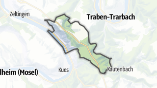 Map / Graach an der Mosel