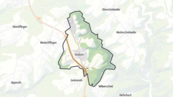 Map / Hasborn