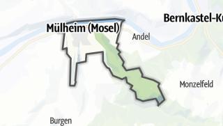Mapa / Mülheim (Mosel)