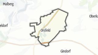 Karte / Orsfeld