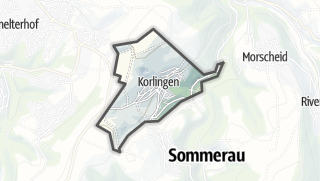 Karte / Korlingen