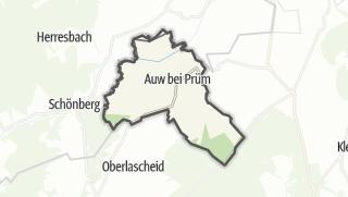 Karte / Auw bei Prüm