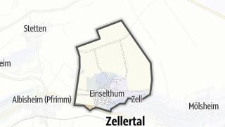 Karte / Einselthum