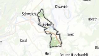 Karte / Mehring