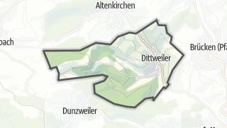 Karte / Dittweiler