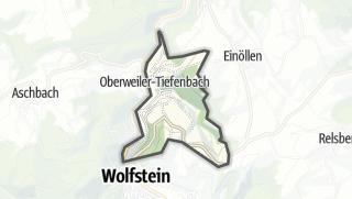 מפה / Oberweiler-Tiefenbach
