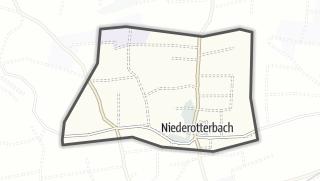 Mapa / Niederotterbach