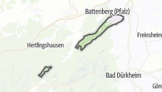 Mapa / Bobenheim am Berg