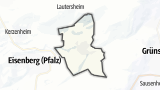 Mapa / Ebertsheim