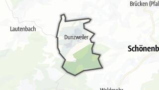 Karte / Dunzweiler