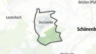מפה / Dunzweiler