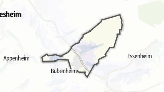 Karte / Schwabenheim an der Selz