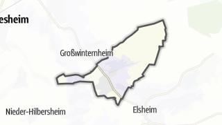 地图 / Schwabenheim an der Selz