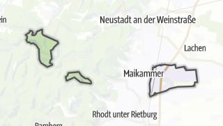 Mapa / Kirrweiler (Pfalz)