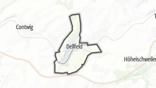 Karte / Dellfeld