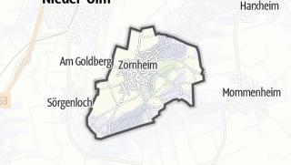 Karte / Zornheim