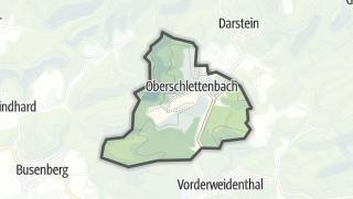 Mapa / Oberschlettenbach