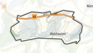 Karte / Walshausen