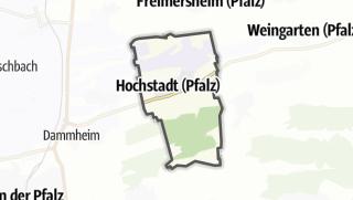 Mapa / Hochstadt (Pfalz)