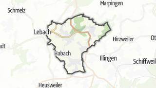 Hartă / Eppelborn
