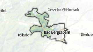 Cartina / Bad Bergzabern