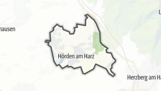 Cartina / Hörden am Harz