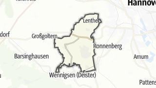 Karte / Gehrden