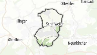Hartă / Schiffweiler