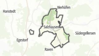 מפה / Salzhausen