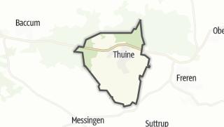 Mapa / Thuine