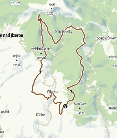 Map / VELKY CYKLOOKRUH