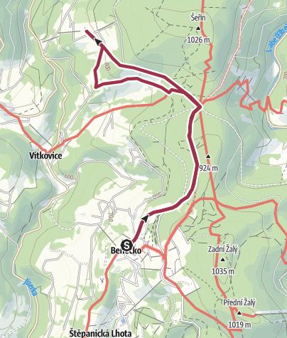 Map / VYLET K HORSKE EKOFARME HUCUL