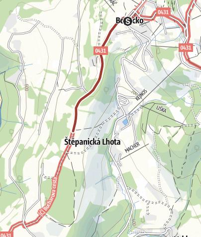 Map / LUFTAKOVA STEZKA