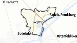 Karte / Borgstedt